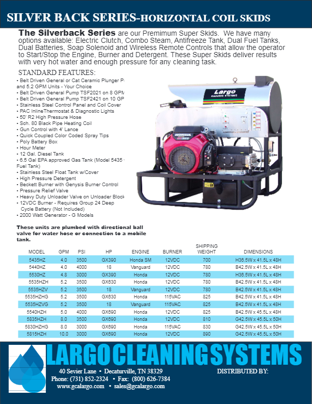 Hot Water Skids - Pressure Washers and Cleaning Systems by